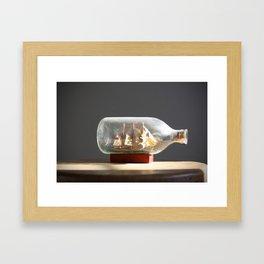 On the High Seas Framed Art Print