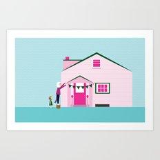 Aunt Sheila Art Print