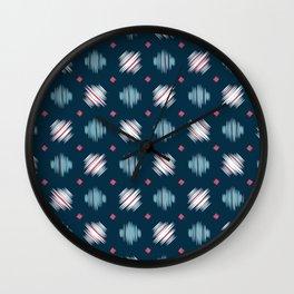 Kimono Pattern Wall Clock