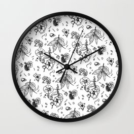 In honor of the Gods a mix of laurel hyacinth tobacco and ohia lehua Wall Clock