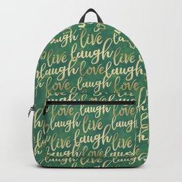 Live Laugh Love III Backpack