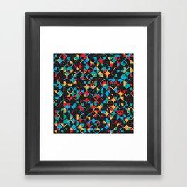 Semi Circ Framed Art Print