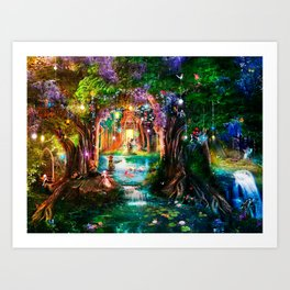The Butterfly Ball Art Print