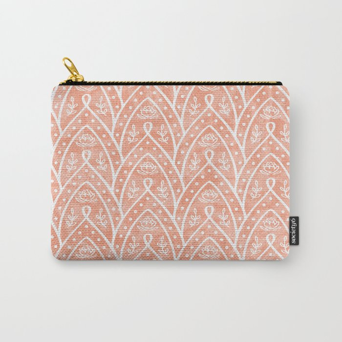 Morocco brick Carry-All Pouch