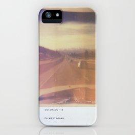 COLORADO 2012 iPhone Case