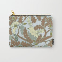winter singing bird in a tree. Carry-All Pouch