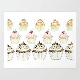 Have a Cupcake! Art Print