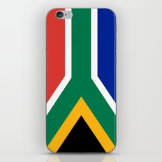 Flag of South Africa, Authentic color & scale iPhone & iPod Skin
