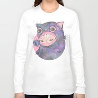 loll3 Long Sleeve T-shirts featuring Boooh! by lOll3