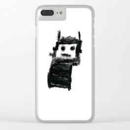 Jack's Monster Clear iPhone Case