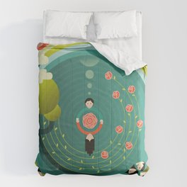 Wonderful (What a Wonderful World) Comforters