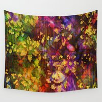 fabric Wall Tapestries featuring Fabric VI by Artwork Of Sam