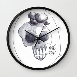 I need your skullz Wall Clock