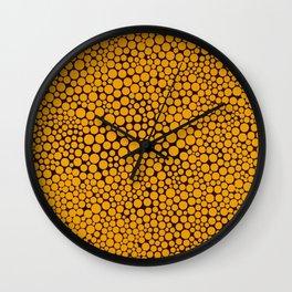 L' Orange Dots Wall Clock
