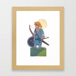 Hero of the Wild Framed Art Print