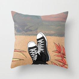 Take it eazy. Throw Pillow