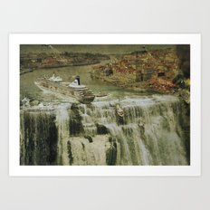 The Edge of the World Art Print