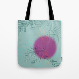 purple sun Tote Bag