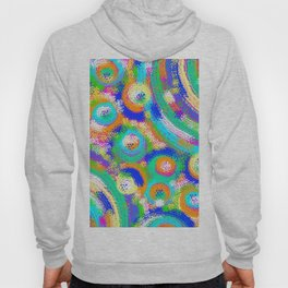 Rainbow Dots Hoody