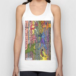 monsters society Unisex Tank Top