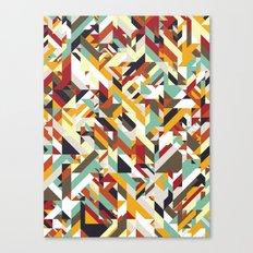 Native Geometric Canvas Print