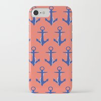 anchors iPhone & iPod Cases featuring Anchors by Maria Tanygina