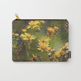Flower Dream Carry-All Pouch