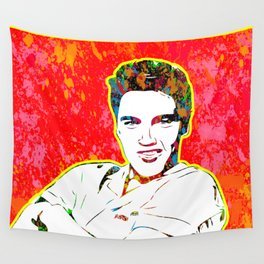 Elvis | Splatter Series | Presley | Pop Art Wall Tapestry