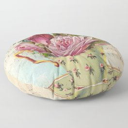 Tea flowers #6 Floor Pillow