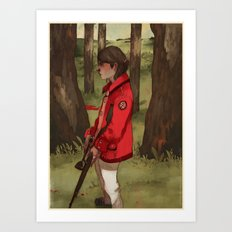 The Hunter's Code Art Print