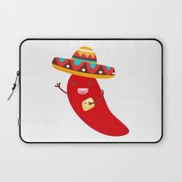 Cinco De Mayo Pepper Design Laptop Sleeve