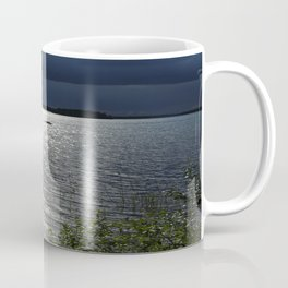 Before Rain - Lakescape by the Night Coffee Mug