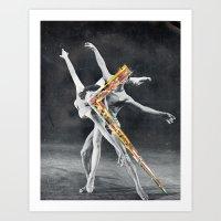ballet Art Prints featuring Ballet by Ben Giles