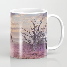 III - Blooming heather at sunrise, Posbank, The Netherlands Coffee Mug