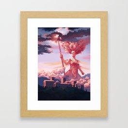 Nephelee, Nymph of Nebula Framed Art Print