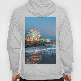 Wheel of Fortune - Santa Monica, California Hoody
