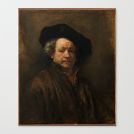 Rembrandt van Rijn - Self-portrait Canvas Print