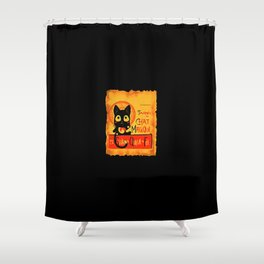 Chat Magique Shower Curtain