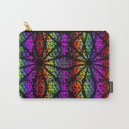 rainbow flowers Carry-All Pouch