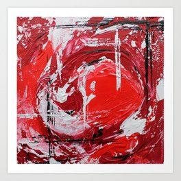 Mini Series [Red] Art Print