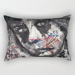 inked #1 Rectangular Pillow