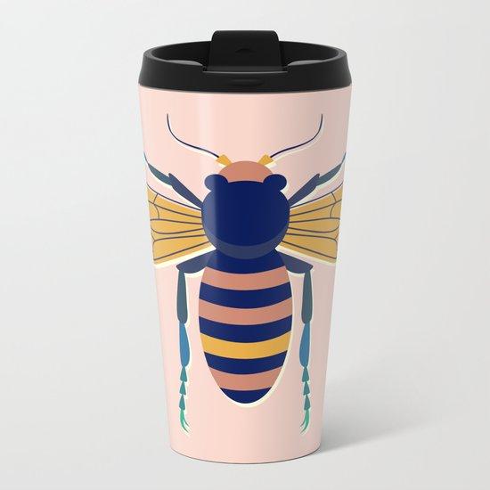 Color Bee I Metal Travel Mug