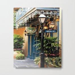 Royal Street Metal Print