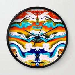 abstract shapes 6 Wall Clock