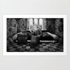 LADY MACBETH Art Print