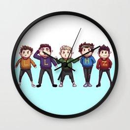 Weasley Jumpers Wall Clock