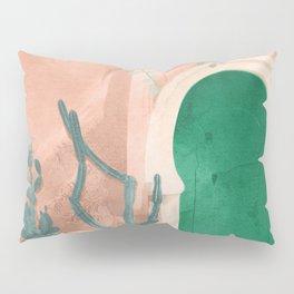 Green Door Pillow Sham
