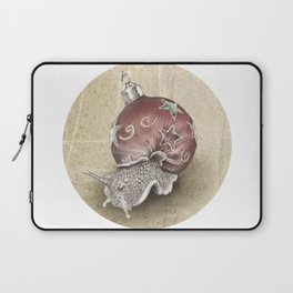 In which a snail is most festive this christmas  Laptop Sleeve