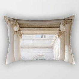 Down at City Hall Rectangular Pillow