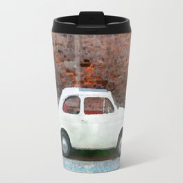 Old car watercolor painting Travel Mug